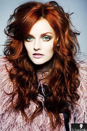 Модный цвет волос 2012 каштановый