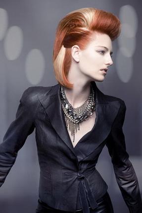 Модный цвет волос 2012