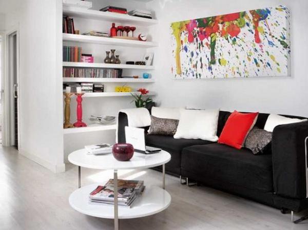 Белый интерьер дома или квартиры