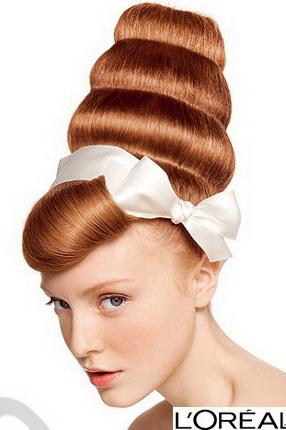 Фото рыжие волосы: