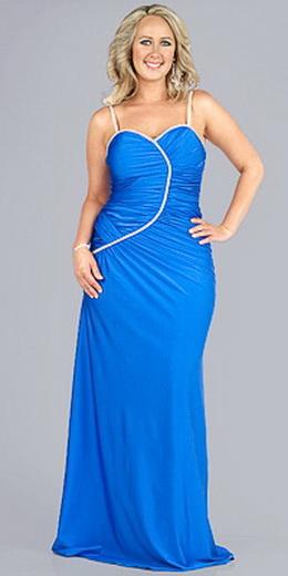 Вечірні сукні для повних — 100 красивих моделей 3fe2fe188654a