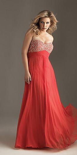 Вечірні сукні для повних фото