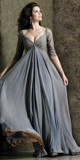 вечерние платья дляполных