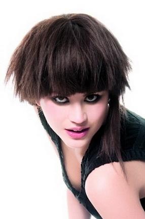 Как заколоть волос средней длины фото