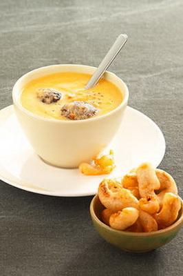 рецепт приготовления супа сырного с грибами