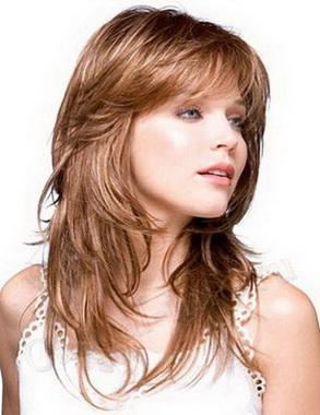 Каскад стрижка на длинные волосы Каскад стрижка на длинные волосы в золотой прекрасное сочетание длинные слои с Один...