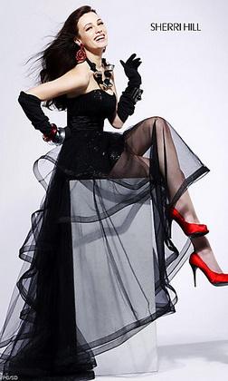 платье мало. Что делать