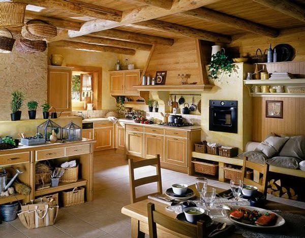 Дизайн в деревенском стиле: интерьер в стиле кантри.