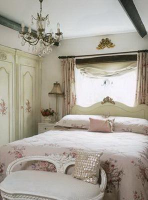 Дизайн спальной в романтическом стиле (5)