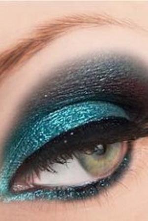 Бирюзовые тени для глаз