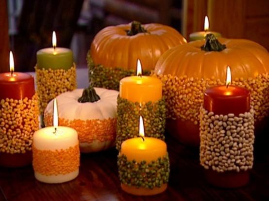 Изготовление праздничных свечей своими руками