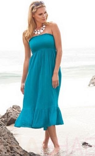 Мода для полных весна-лето 2012