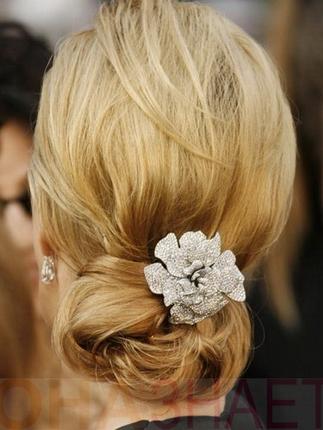 Весільні зачіски 2013