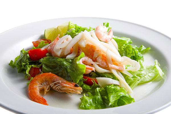 Кальмары с креветками рецепты с фото пошагово