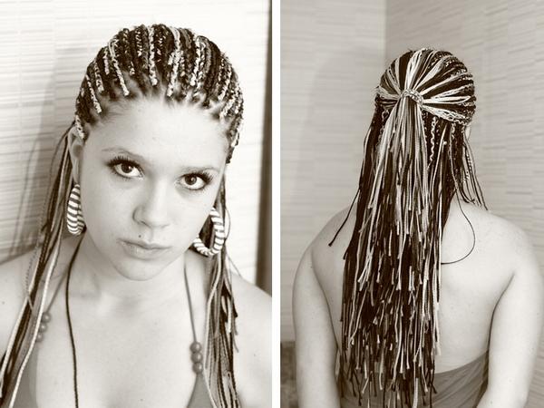 Плетіння косичок зачіски з косичок