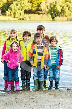 Детские резиновые сапоги