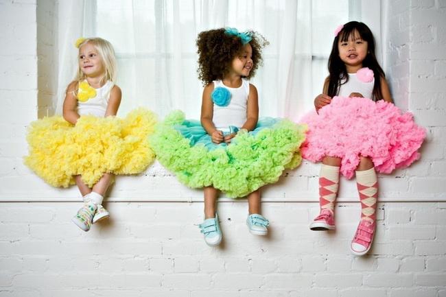 Как сшить пышную юбку ребенку