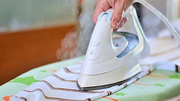 Как очистить утюг