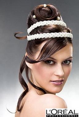 Грецька зачіска з чубком - фото та відео