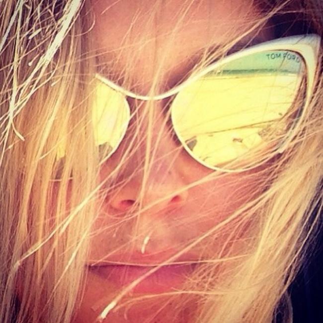 Зеркальные очки