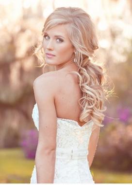 Свадебная прическа 2014 ракушка