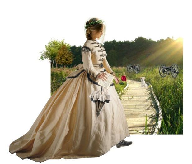 Платья 19 века