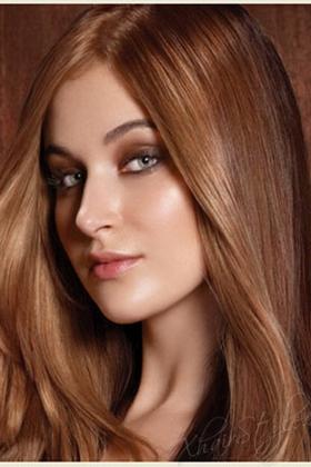фото шоколадный оттенок волос