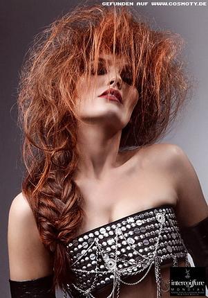 Прически на один бок на средние волосы