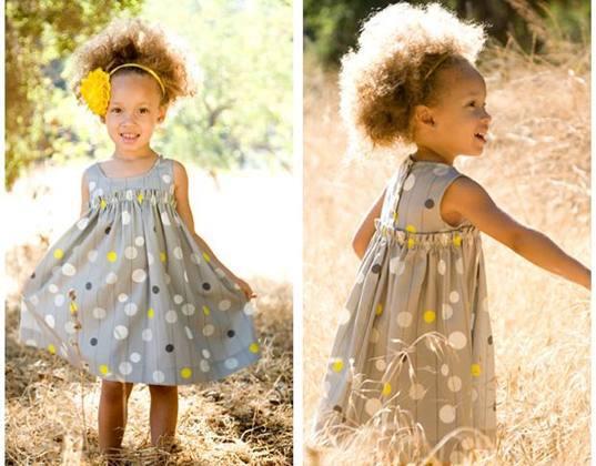 Платье для девочки своими руками на каждый день