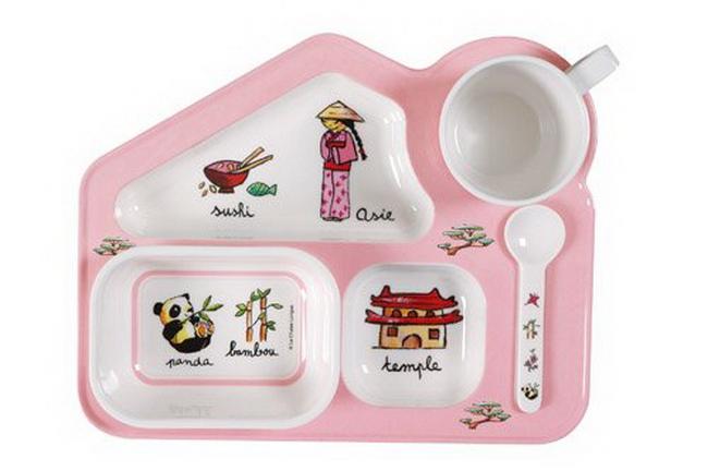 Як вибрати дитячий посуд?