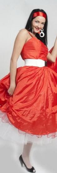 Платья в стиле стиляг