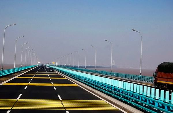 Самый длинный мост в Китае - Ханчжоу Бэй, 36 км
