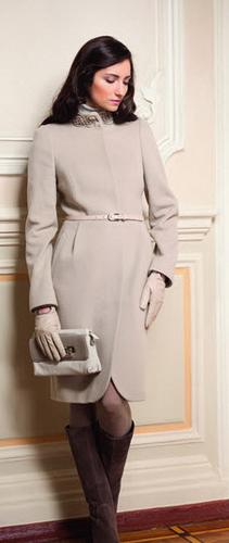 Кашемировое пальто - роскошный вариант на осень