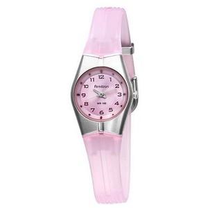 розовые часы