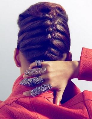 Как заплести косу колосок
