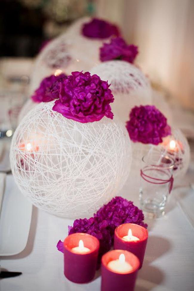 Свадебное декор своими руками