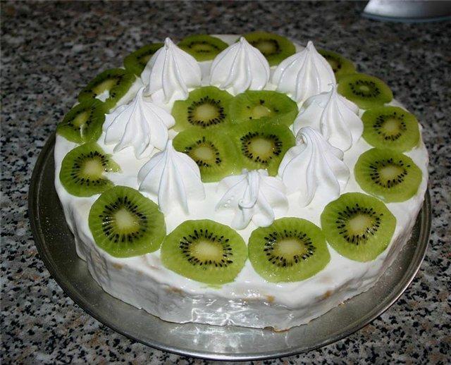Как украсить торт кремом узоры