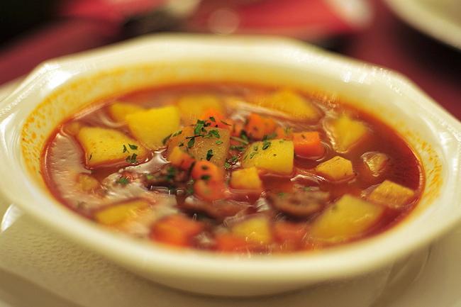 Суп из шеек курицы рецепт