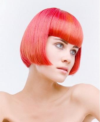 Красные волосы фото