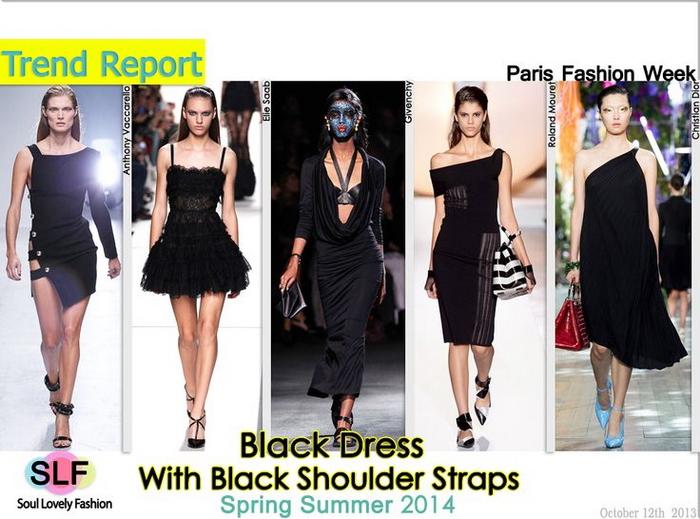 Модное платье весна-лето 2014