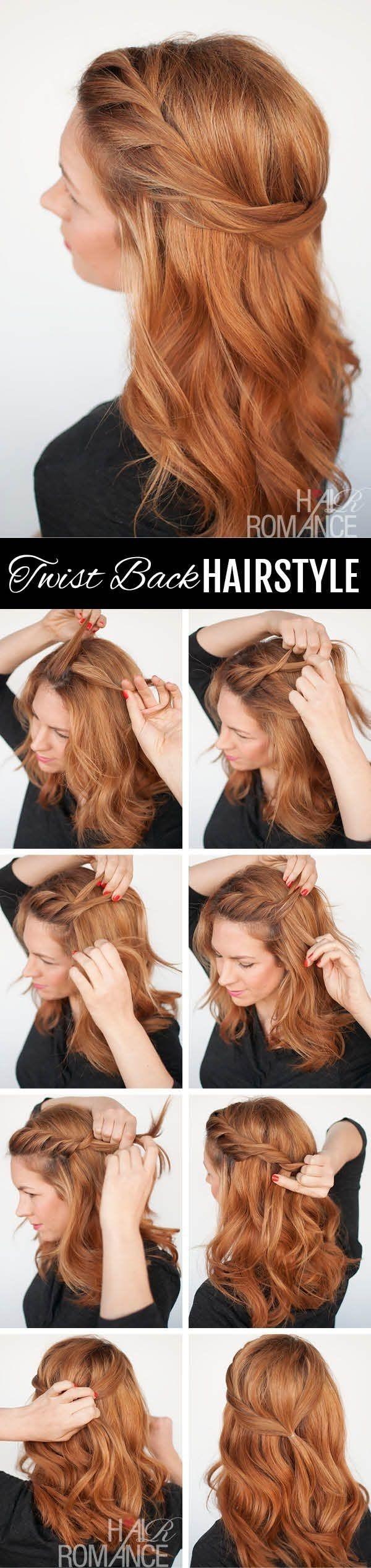 Укладка на каждый день для длинных волос