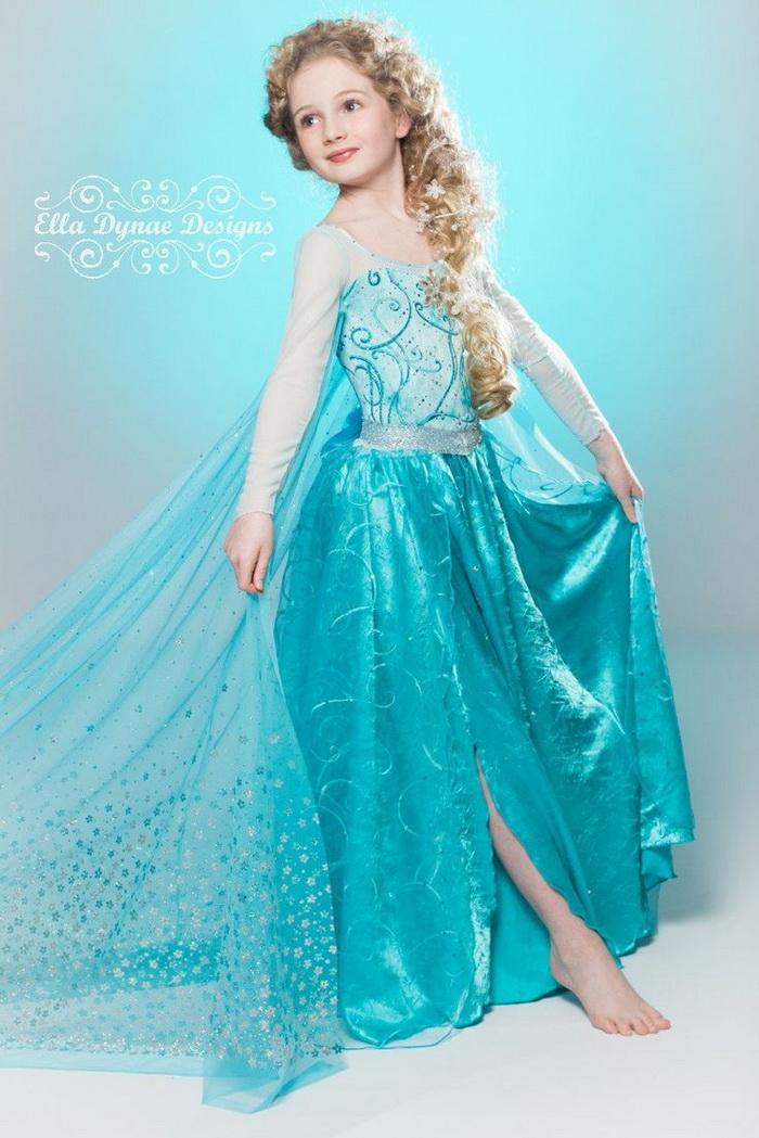 платье эльзы из холодного сердца фото они