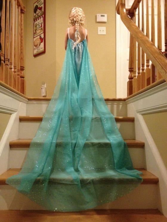 Платье Эльзы из Холодного сердца