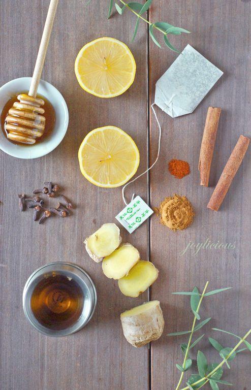 имбирный чай для похудения с лимоном