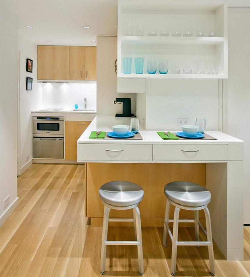 Маленькие современные кухни
