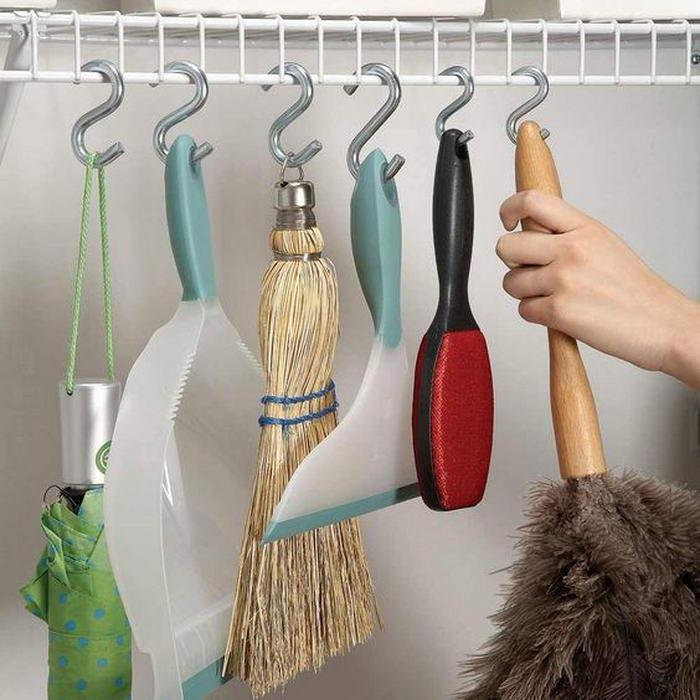 Где хранить предметы для уборки