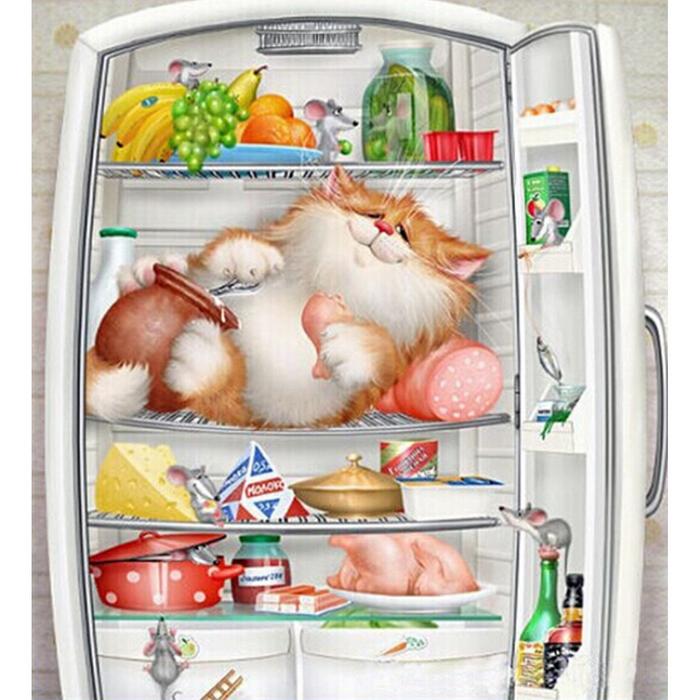 Перевешиваем двері холодильника - відео в допомогу