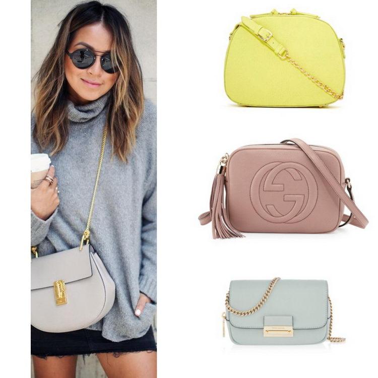 f1626320ca95 Как выглядеть стильно с маленькой сумочкой? Лучшие модные образы