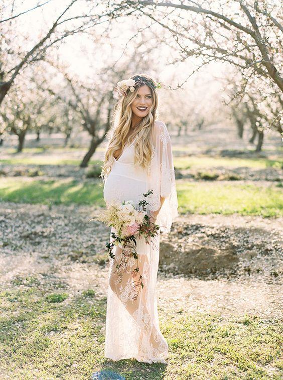 Выйти замуж беременной