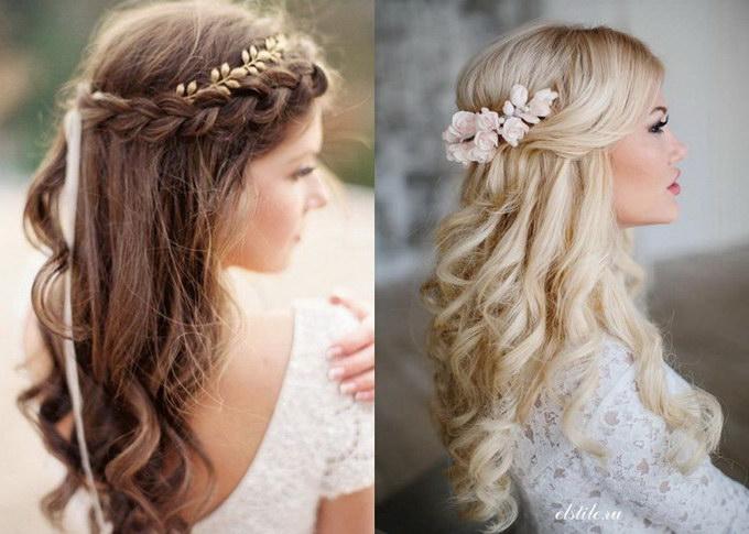 лучшие прически невесты